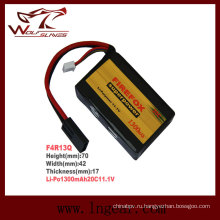 Firefox 11.1V 1300mAh Lipo Li-Po литийно полимерная батарея 20 c мини-типа