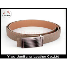 Lady Fashionable Flat Buckle PU Belt