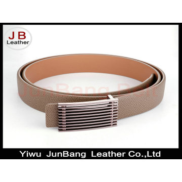 Lady Fashionable Flat Buckle PU Belt