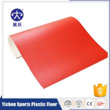 Plancher de sport professionnel Palstic plancher de tennis de table PVC feuille de sol