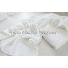 Logotipo de alta qualidade personalizado disponível 100% algodão branco hospital toalha