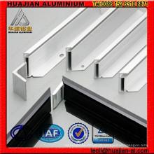 Perfis de alumínio para suporte solar