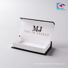 Alibaba eyelash manufacturer mink lashes wholesale custom packaging cardboard with own logo for mink lashes 3d mink