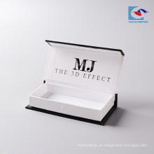 Alibaba fabricante de cílios vison cílios atacado cartão de embalagem personalizada com o próprio logotipo para vison cílios 3d mink