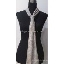 Moda cachemir impreso bufanda