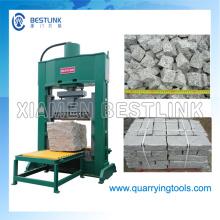 Máquina de rachar de pedra hidráulica para fazer pedras naturais da cara