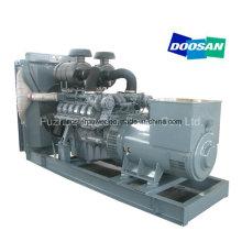 480kw 600 kVA Open Type Daewoo Electric Diesel Generator with Marathon Alternator