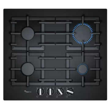 Gas Bosch Hob 4 Burner Glass Atas