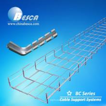 Acessórios elétricos da bandeja da escada do cabo da bandeja de cabo do fio (UL, cUL, CE, IEC, GV)