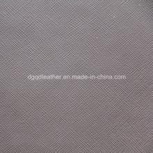 Forte padrão cruzado para o saco de couro artificial (QDL-53169)