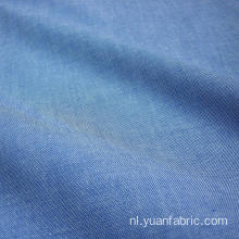 Blauwe denim 100% katoenen Chambray-stof