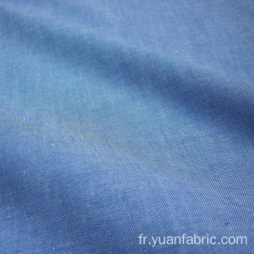 Blue Denim 100% Coton Chambray Fabric