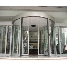 Puerta automática curvada para el hotel