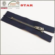 2015 Fashion for #3 Metal Antique Silver Close End Zipper