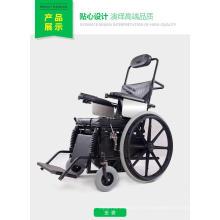 Proveedor de China Topmedi Equipo médico Semiautomático Stand up Silla de ruedas