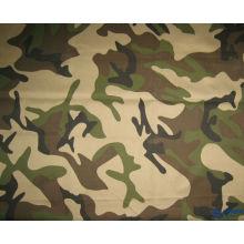 полиэстер и хлопок 65/35 20*16 ribstop камуфляж напечатанная ткань, используемая для полиции и военных