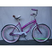 """26 """"bicicleta do cruzador da praia da bicicleta da cidade das mulheres (FP-BCB-C043)"""