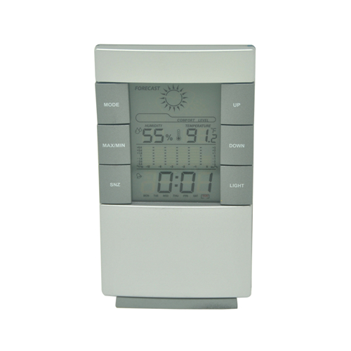 hygrometer humidity thermometer alarm clock