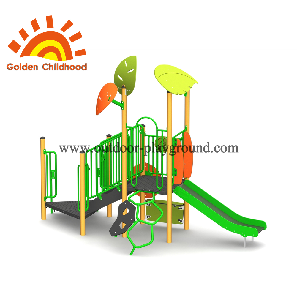 Energitic Natural Park Playground Equipment For Kids