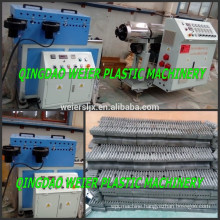 electric conduit PVC PA corrugated pipe extruder line