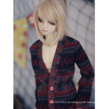 BJD Clothes Suéter rojo para muñeca articulada 70cm / SD / MSD