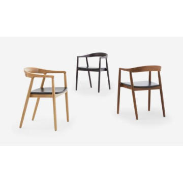 Oak Wooden Dining Chair Hotel Chair