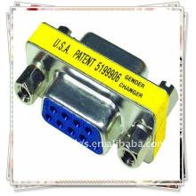 Vga femelle à femelle coupleur / changeur / convertisseurs / connecteurs