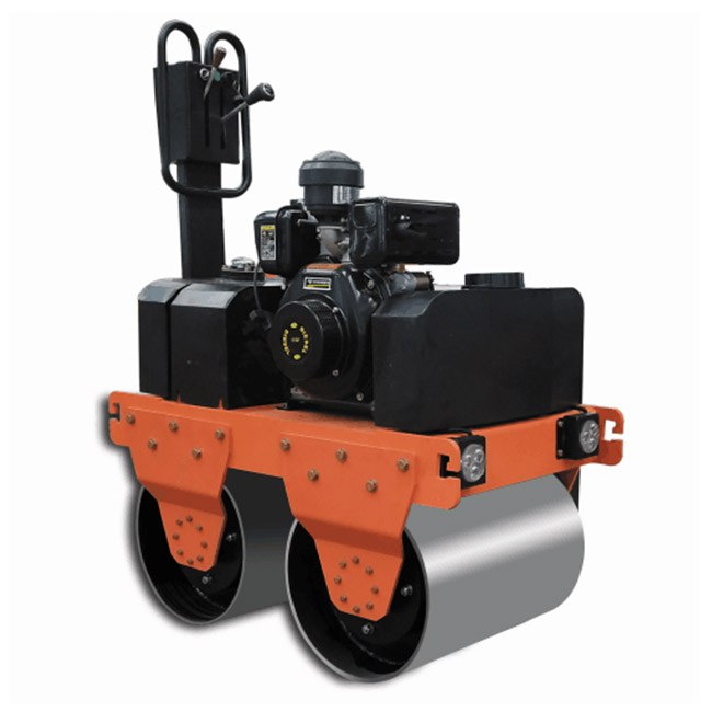 Vibration double drum Road Roller