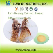 Red Ginseng Extract Powder 80% ginsenoside UV