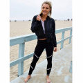 Black/White Sport Yoga Clothes Germent Pants Leggings (3044)