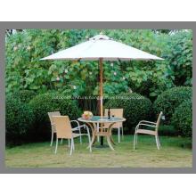 Strong Wooden Frame Cheap Nice Patio Umbrella