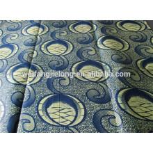 diseño de moda tejido de cera 100% con diferentes patrones mediante impresión en stock