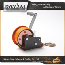 Boat application and hand power source hand winch