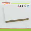 White Color Laminated MDF for Furniture