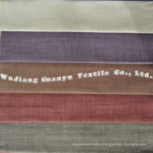 Home Decoration Linen Fabric with Different Colors Avilable