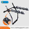 rear mounted 4 bicycles carrier
