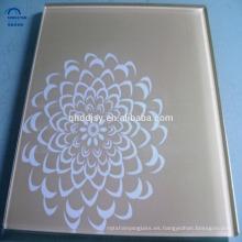 roto teñido de color templado de serigrafía vidrio 8 mm de espesor piezas para la construcción en China