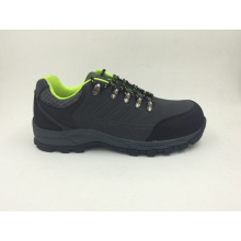 Casual Style Split Nubuck Leather Sports Style Safety Outdoor Shoes (16070)