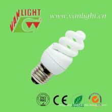 High Efficiency T3 Full Spiral CFL 9W Energey Saving Bulb