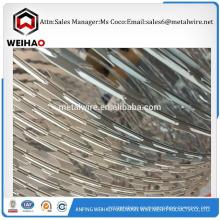 Recepción a la investigación buena calidad BTO-22 maquinilla de afeitar barbed wire razor wire