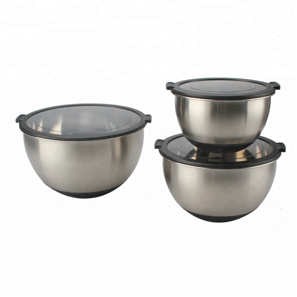 18 10 Stainless Steel Salad Bowl With