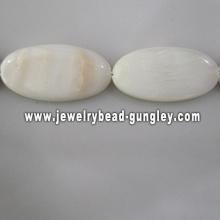 new fashion oval shape fresh water shell