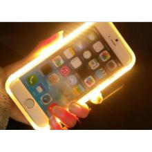 Светодиодный свет смарт-чехол для телефона iPhone 6/6plus