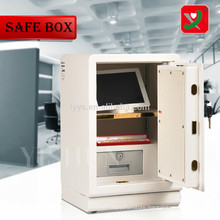 Top loading drop safe with electronic lock