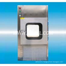Air shower pass-box