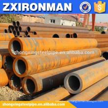 fabricación de tubos de acero negro de gran diámetro