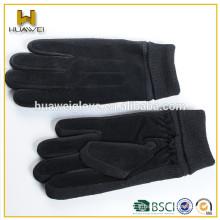 Fabriqué en direct vendant des femmes bon marché et de la chaleur des gants en cuir de suède en peau de porc