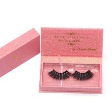 7D74 Hitomi custom lash box make your own lashes paper eyelash packaging 3d real mink eyelash