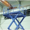 electric cargo lift platform, warehouse goods lift, cargo elevator