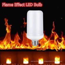 Criativo Cintilação Emulação Vintage Atmosfera E27 E26 2835 7w Efeito Chama Lâmpadas de Incêndio